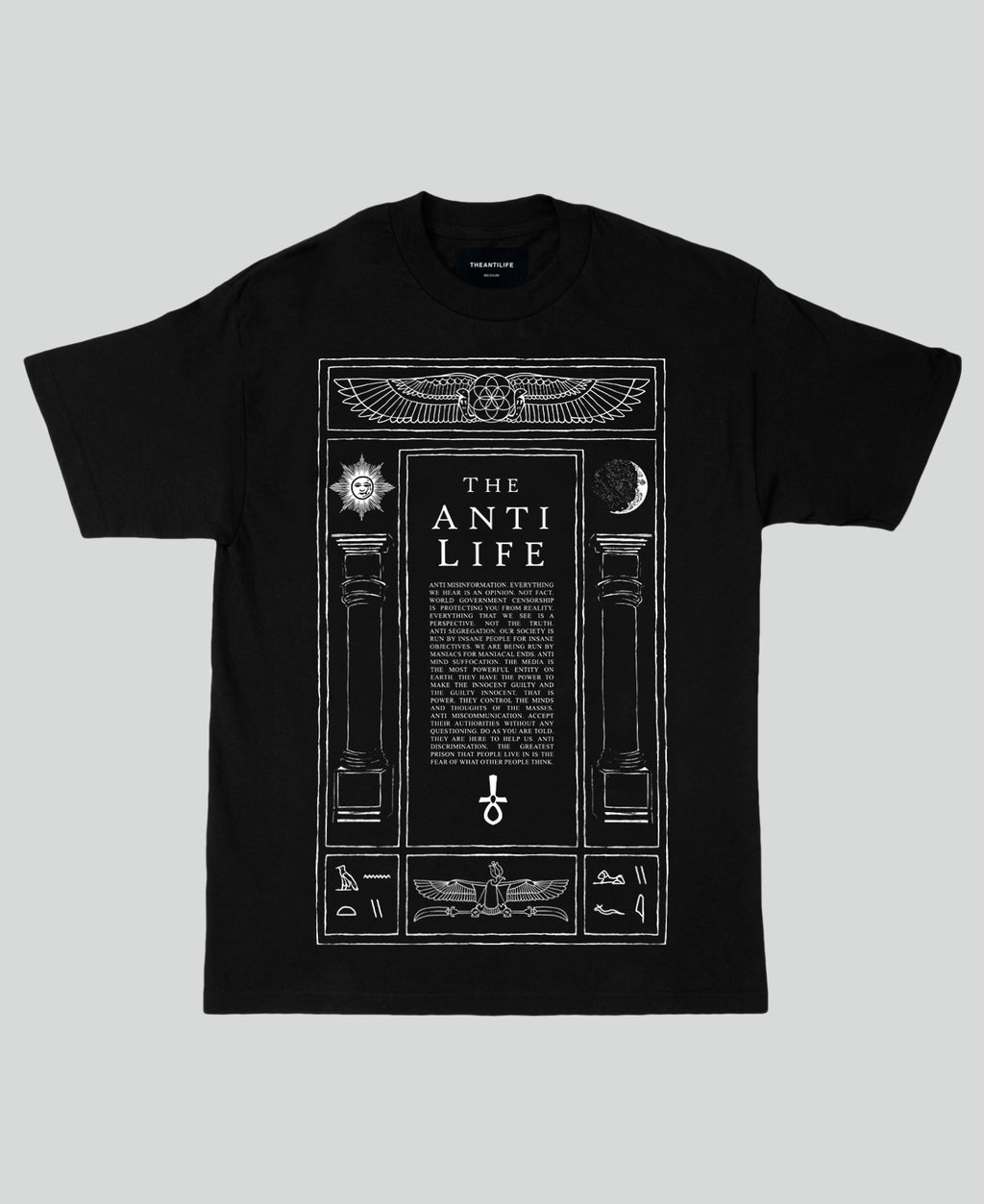 Liber Sanctus Tee - The Anti Life Ltd