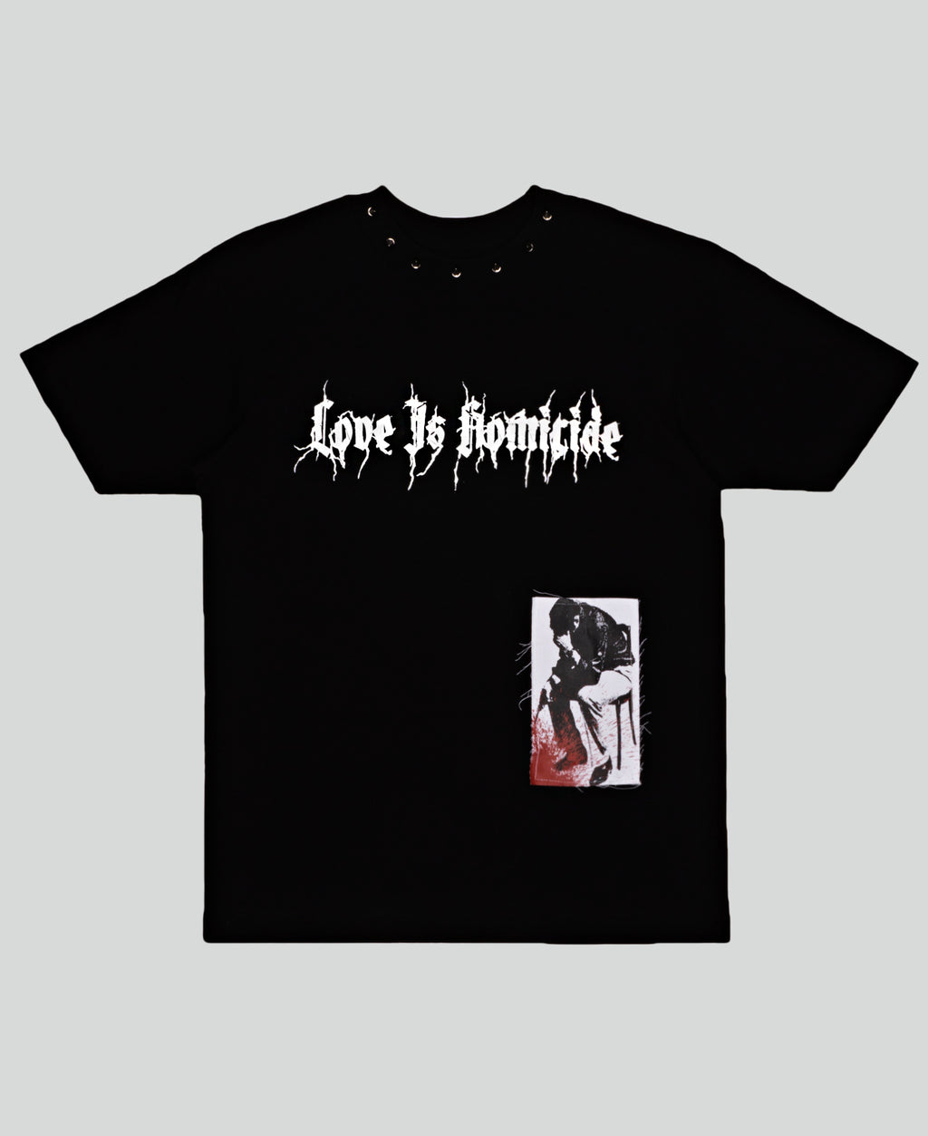 Love Is Homicide Tee - The Anti Life Ltd