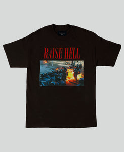 Raise Hell Tee - The Anti Life Ltd
