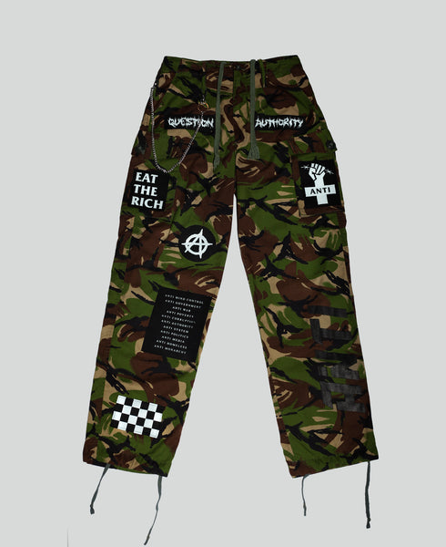 Reworked 'Global Disorder' Camo Trousers