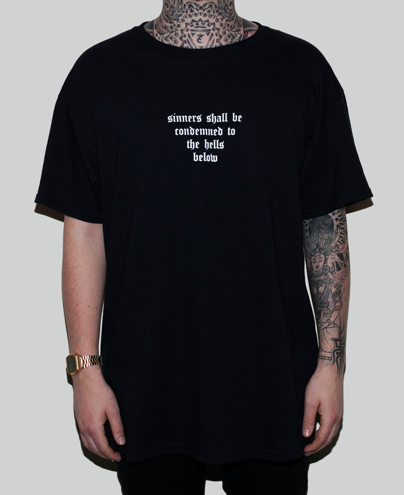 Sinners Tee - The Anti Life Ltd
