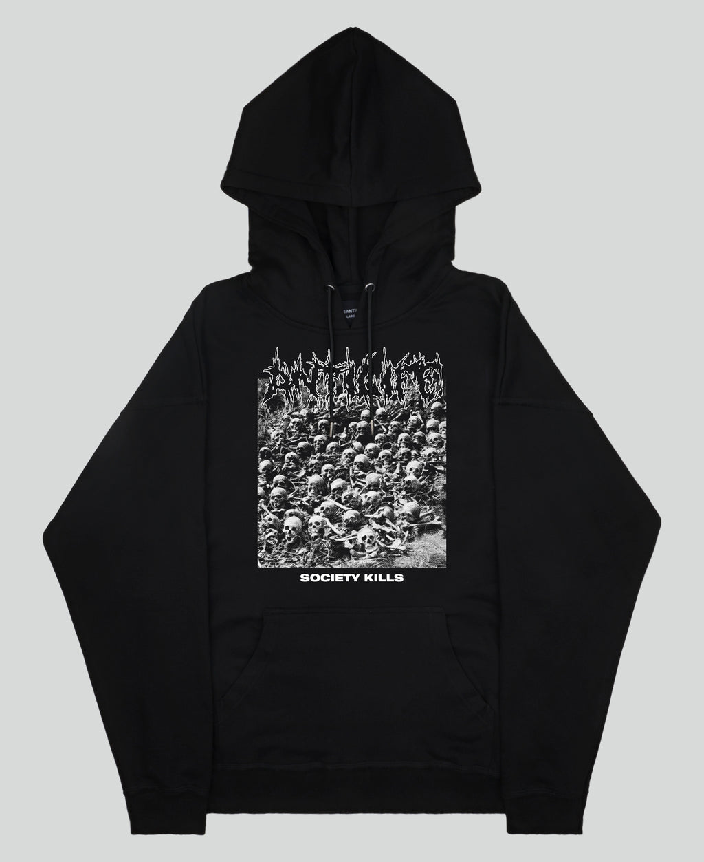 Society Kills Hoodie - The Anti Life Ltd