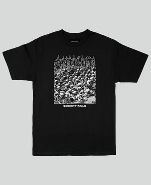 Society Kills Tee - The Anti Life Ltd