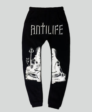 Third God Sweatpants - The Anti Life Ltd