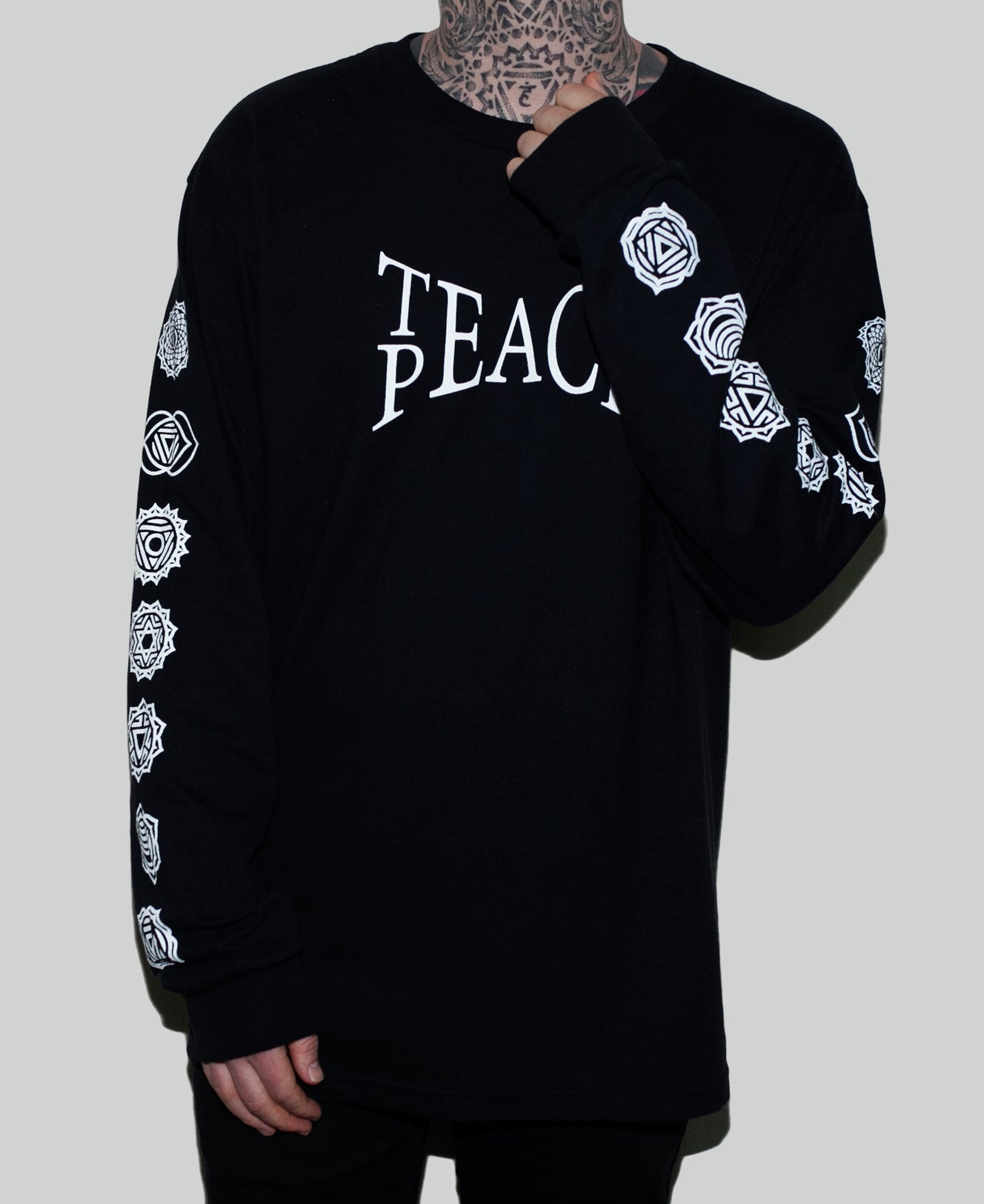 Teach Peace Long Sleeve - The Anti Life Ltd