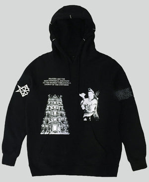 Temple Of God Hoodie - The Anti Life
