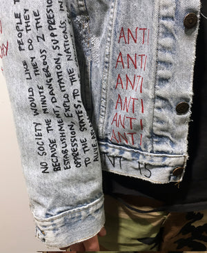 'Anti-Establishment' Reworked Jacket - The Anti Life Ltd