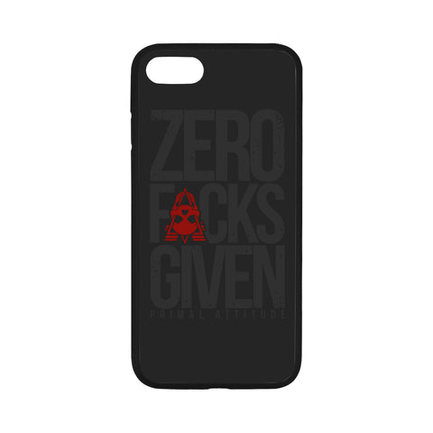 ZERO FUCKS GIVEN - iPhone 7 Case 4.7""