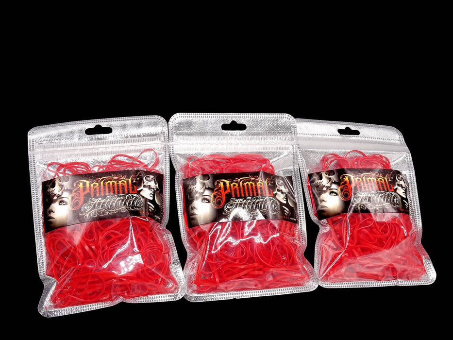 Rubber Bands #12 (RED)Primal - 20G Bag - PrimalAttitude.com - 1