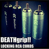 Deathless 8' Locking RCA Cord