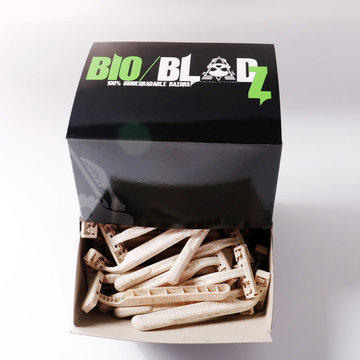 BIOBLADZ by Primal Attitude - 100% Bio-Degradable Razors