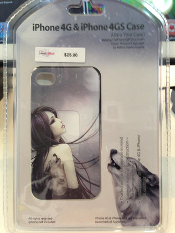 IPhone 4 or 4S Case (Wolf) - PrimalAttitude.com