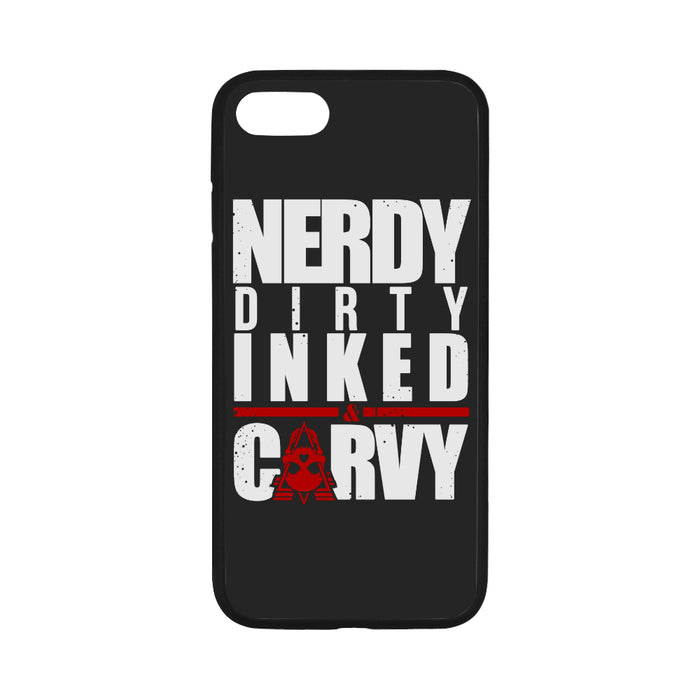 NERDY WHITE - iPhone 7 Case 4.7""
