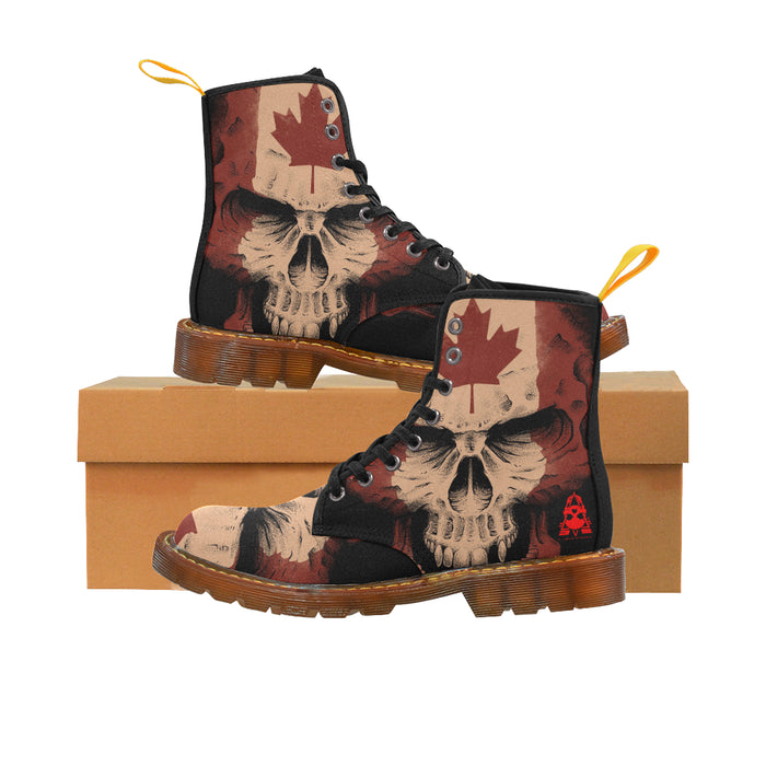 "Woman's ""These Colours Don't Run"" Boots  - Martin Boots For Women"