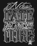 "NO FATE CANVAS - 16"" x 20"" - MolassesJones x Primal Attitude Canvas Print"