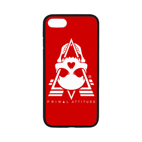 ICONIC (WHITE on RED) - iPhone 7 Case 4.7""