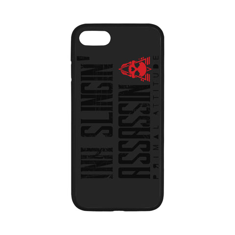 Ink Slingin Black - iPhone 7 Case 4.7""