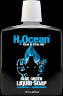 16oz BLUE GREEN LIQUID SOAP