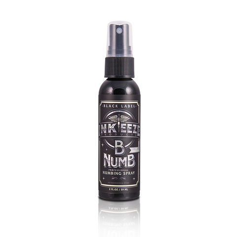 InkEeze Black Label Numbing Spray