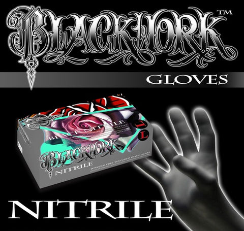 Black Nitrile Medical Grade Exam Gloves *Case*