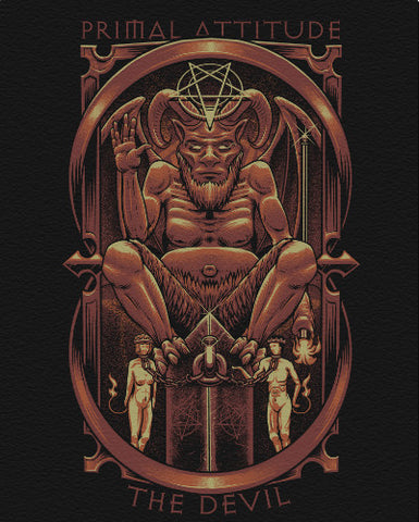 "The Devil Canvas - 16"" x 20"" Canvas Print"