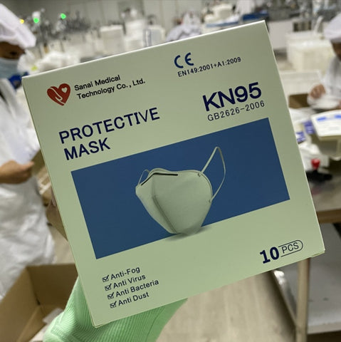 KN95 MASKS - 10PK (ARRIVED)