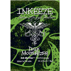 INK-EEZE TATTOO DAILY MOISTURIZER - 5ml Packet - PrimalAttitude.com