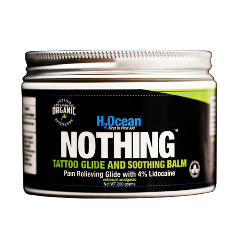 PRE-ORDER - NOTHING Tattoo Glide and Soothing Balm w/Lidocaine