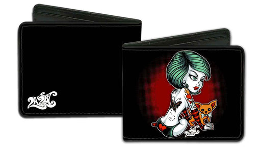 SUGAR LOVE - MEN'S BIFOLD WALLET - PrimalAttitude.com