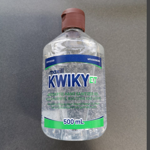 KWIKY Waterless Hand Sanitizer (GEL) - (ARRIVED)