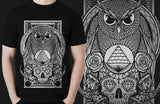 """ETERNAL WISDOM"" TEE - GOLD EDITION by Primal Attitude Clothing Co. - PrimalAttitude.com - 2"