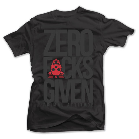 MEN'S ZERO FUCKS GIVEN TEE