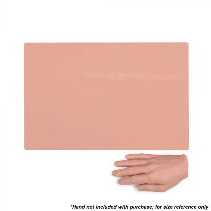 "A Pound of Flesh Tattooable Synthetic Canvas — 11"" x 17"" — 3mm Pink Tone"