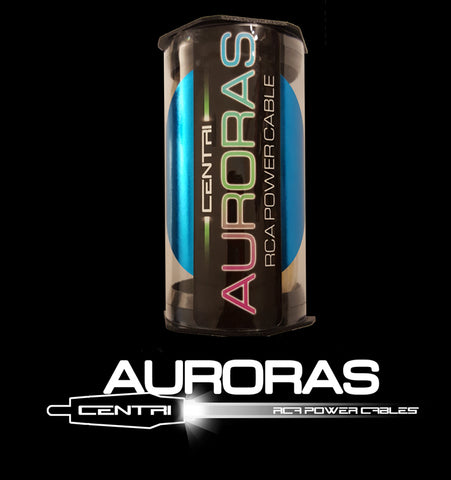 AURORA 8' RCA POWER CABLES