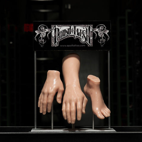 A Pound Of Flesh - Custom Steel Display - PrimalAttitude.com