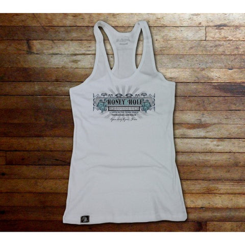 """HONEY HOLE"" Women's Tank Top - PrimalAttitude.com"