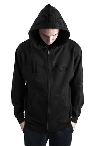 INK Men's Midweight Zip Hoodies - PrimalAttitude.com - 6