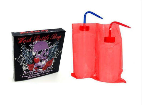 WASH BOTTLE BAGS (RED) - PrimalAttitude.com