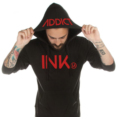 INK Men's Midweight Zip Hoodies - PrimalAttitude.com - 1