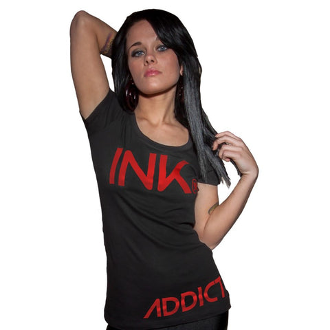 INK Women's Scoop Tee - PrimalAttitude.com - 3