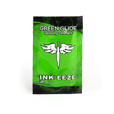 Green Glide - INK-EEZE - Tattoo Ointment 5ml Packet - PrimalAttitude.com
