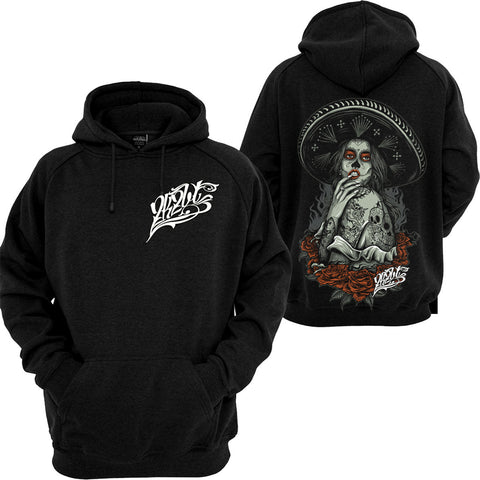 MARIACHI BABE PULLOVER HOODIE by 2K2BT Clothing - PrimalAttitude.com