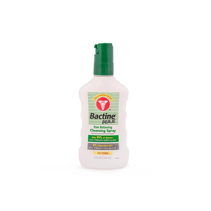 Bactine Max — First Aid Anesthetic & Antiseptic — 5oz Spray Bottle