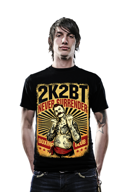 BOXING MAN by 2K2BT Clothing - PrimalAttitude.com