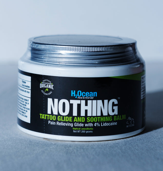 7oz NOTHING Tattoo Glide and Soothing Balm