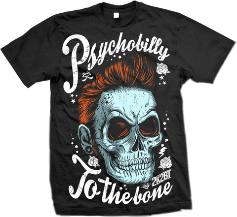 PSYCHOBILLY by 2K2BT Clothing - PrimalAttitude.com