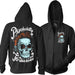 PSYCHOBILLY ZIPUP HOODIE by 2K2BT Clothing - PrimalAttitude.com