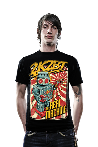 THE REAL MACHINE by 2K2BT Clothing - PrimalAttitude.com