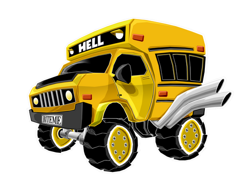 Short Bus To Hell - PrimalAttitude.com