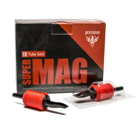 "Super Mag Tube & Grip Sets – 1"" Magnum Disposable Grips – Box of 18 - PrimalAttitude.com - 1"